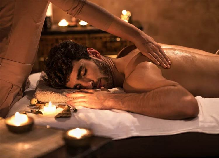 о массаже в салоне Талисман с раскрытием чакры у мужчины Муладхары